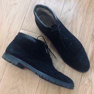 Vintage Salvatore Ferragamo Velvet Boots